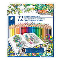Staedtler; Color Pencils, Assorted Colors, Pack Of 72