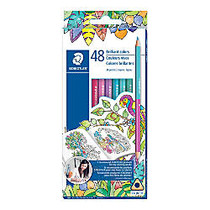 Staedtler; Duo Ended Color Pencils, Assorted Colors, Box Of 24