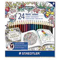 Staedtler; Johanna Basford Colored Pencils, Assorted Colors, Pack Of 24