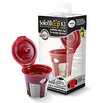 Solofill Cup K3-Chrome Refillable Filter Cup