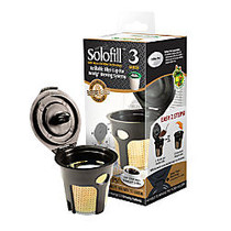 Solofill Cup K3-Gold Refillable Filter Cup, Red/Gold