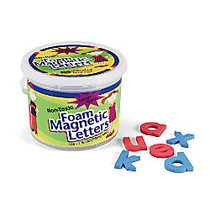 Pacon; Magnetic Letters, Foam, Lowercase, 1 1/2 inch;, Red/Blue, Box Of 108