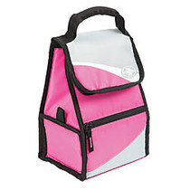 Arctic Zone Side Loading Hi-Top Power Pack, 10 3/4 inch;H x 7 1/4 inch;W x 5 3/4 inch;D, Pink