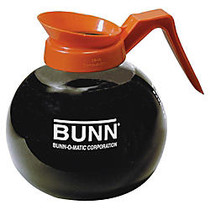 Bunn; Pour-O-Matic 12-Cup Decanter, Decaffeinated, Clear/Orange