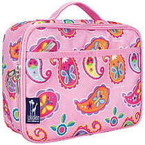 Wildkin Polyester Lunch Box, 9 3/4 inch;H x 7 inch;W x 3 1/4 inch;D, Paisley By Olive Kids