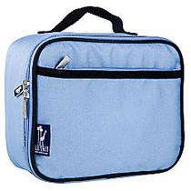 Wildkin Polyester Lunch Box, 9 3/4 inch;H x 7 inch;W x 3 1/4 inch;D, Placid Blue