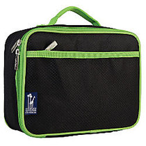 Wildkin Polyester Lunch Box, 9 3/4 inch;H x 7 inch;W x 3 1/4 inch;D, Rip-Stop Black And Green