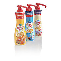 Coffee-mate Liquid Coffee Creamer, Pump Dispenser, French Vanilla, 21.1 Oz