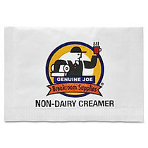Genuine Joe Non-Dairy Creamer, 0.08 Oz., Pack Of 800