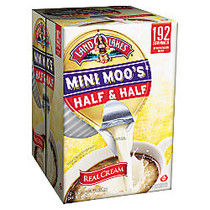 Land O'Lakes Mini Moo's Half And Half Creamer Single-Serve Cups, 0.28 Oz, Carton Of 192