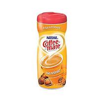 Nestle; Coffee-mate; Powdered Creamer Canister, Hazelnut, 15 Oz