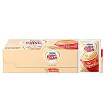 Nestle; Coffee-mate; Powdered Creamer Singles, Original, 0.1 Oz, Box Of 50