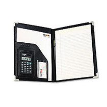 Victor Executive Style Portfolio - Letter - 8 1/2 inch; x 11 inch; Sheet Size - Black - 1 Each