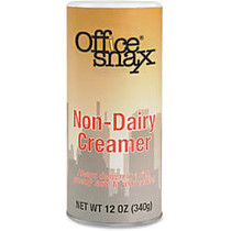 Office Snax; Non-Dairy Creamer Canister, 12 Oz.
