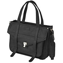 WIB Mercer Street Carrying Case for 17 inch; Notebook, MacBook Pro - Black