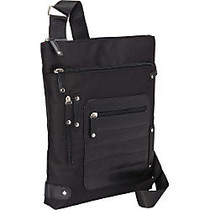 WIB Phoenix City Slim Case for up-to 14.1 inch; Notebook , Tablet, eReader - Black - Twill Polyester