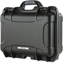 Turtle 519 Equipment Case - Internal Dimensions: 13.80 inch; Width x 6.20 inch; Depth x 9.30 inch; Height - External Dimensions: 15.4 inch; Width x 6.8 inch; Depth x 12.1 inch; Height - Padlock Closure - Stainless Steel - Black - 1 Each