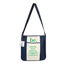 The Master Teacher  inch;Be inch; Collection Tote Bag, Navy/Green
