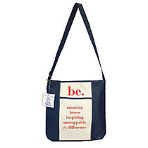 The Master Teacher;  inch;Be inch; Collection Tote Bag, Navy/Coral