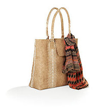 Tote & Scarf