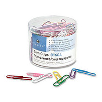 Sparco Vinyl-Coated Gem Clips, No. 2, Assorted, Box Of 200