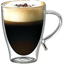 Starfrit 12-Ounce Double-Wall Glass Coffee Cup