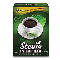 Stevia In The Raw™ Packets, 1.8 Oz Box Of 50