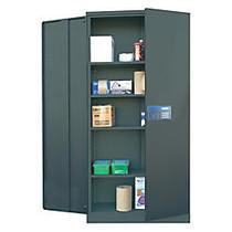 Atlantic Metal Industries Keyless Electronic Coded Cabinet, Black