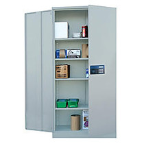 Atlantic Metal Industries Keyless Electronic Coded Cabinet, Dove Gray