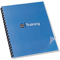 Swingline; GBC; Clear View; Presentation Covers - For Letter 8.50 inch; x 11 inch; Sheet - Clear - Polypropylene - 100 / Box