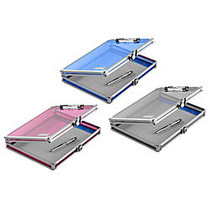 Vaultz; Storage Clipboard, 8 1/2 inch; x 11 inch;, Assorted Colors (No Color Choice)