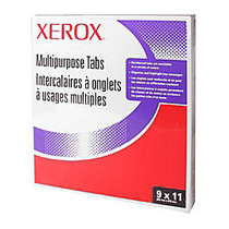 Xerox; 5100/4135 Straight Collated Copier Tabs, White, Box Of 50 Sets