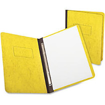 TOPS Pressguard Report Covers With Reinforced Side Hinge, Yellow - Letter - 8 1/2 inch; x 11 inch; Sheet Size - 2 x Prong Fastener(s) - 3 inch; Fastener Capacity for Folder - Pressguard, Paper Stock - Yellow - 1 Each