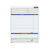 Adams; Bid Memo Books, 8 3/8 inch; x 11 7/16 inch;, White, 50 Sheets Per Book, Carton Of 12 Books