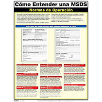 ComplyRight™ MSDS Spanish Poster