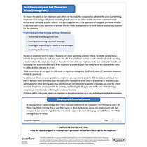 ComplyRight™ Texting Cell Phone Form + Tip Sheet