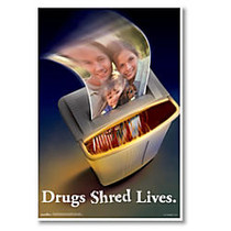 ComplyRight Substance Abuse Poster, Illegal Drug, English, 15 inch; x 22 inch;