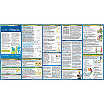 ComplyRight; All In One Safety Poster, 18 inch; x 24 inch;, English