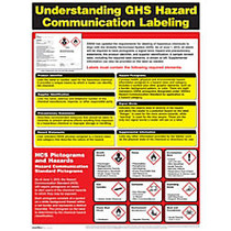 ComplyRight; Hazardous Materials Poster, 18 inch; x 24 inch;, English