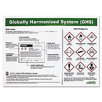 Impact Products GHS Label Guideline English Poster - 24 inch; Width x 18 inch; Height - Assorted
