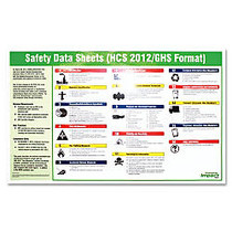 Impact Products Safety Data Sheet English Poster - 32 inch; Width x 20 inch; Height - Assorted