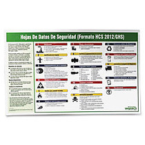 Impact Products Safety Data Sheet Spanish Poster - 32 inch; Width x 20 inch; Height - Assorted
