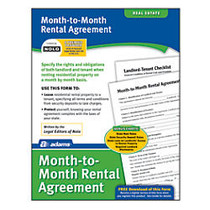 Adams; Month-to-Month Rental Agreement