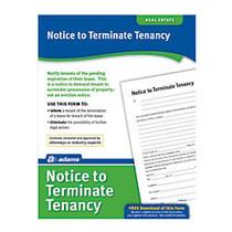 Adams; Notice To Terminate Tenancy