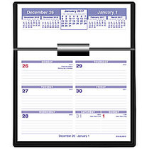 AT-A-GLANCE; Flip-A-Week; Desk Calendar And Base, 5 5/8 inch; x 7 inch;, January–December 2017