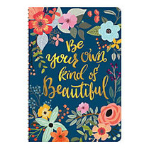 Orange Circle Studio™ On-Time Weekly Planner, 5 11/16 inch; x 8 1/4 inch;, Be Your Own Kind Of Beautiful, August 2016 to December 2017