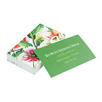 Taylor Soft Touch Full-Color Laminate Business Cards, 2 inch; x 3 1/2 inch;, 4/0, White, Box Of 250