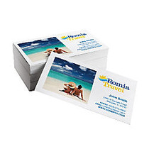 Value Business Cards, 2 inch; x 3 1/2 inch;, White, Pack Of 100