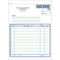 Sales Order Forms, Ruled, 2-Part, 8 1/2 inch; x 11 inch;, Box Of 250