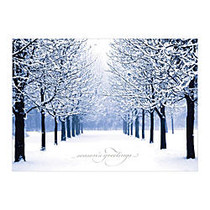 Sample Holiday Card, Winters Path